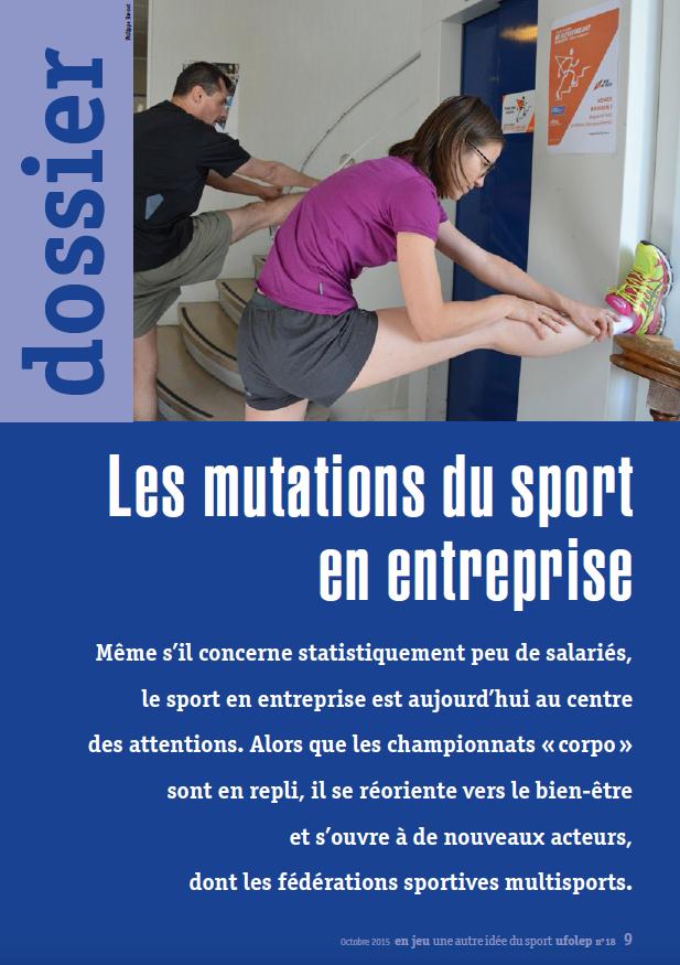 Mutations sport entreprise UFOLEP