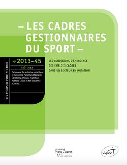 Les cadres gestionnaires du sport