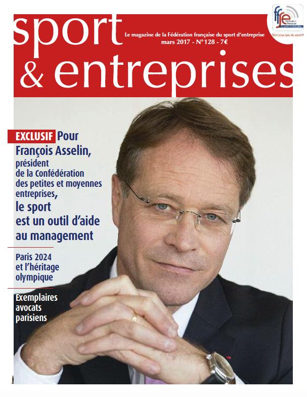 Sport & Entreprises FFSE avril