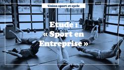 Etude sport en entreprise