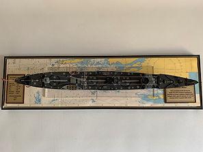 Model Gemi Muavenet-i Milliye Çanakkale
