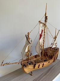 Model Gemi Pinta Ercan Küçüktaş