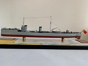 Model Gemi Muavenet-i Milliye Ercan Kucu