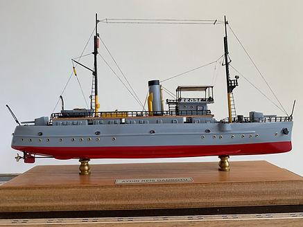 Aydın Reis Gambot Model Gemi Ercan Küçüktaş