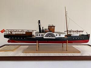Model Gemi Galata Ercan Küçüktaş