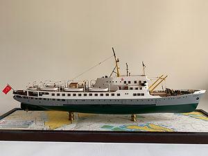 Model Gemi Ayvalık Ercan Kucuktas