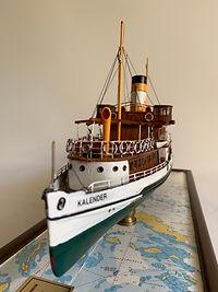 Model Gemi Kalender Ercan Kucuktas