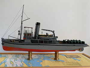 Model Gemi Nusrat Ercan Küçüktaş