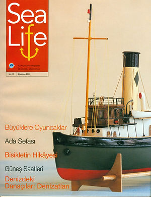 Model Gemi Joffre SeaLife Kapak Ercan Ku