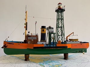 Model Gemi Corona Fener Gemisi Ercan Kuc