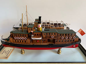 Model Gemi Tarabya Ercan Küçüktaş