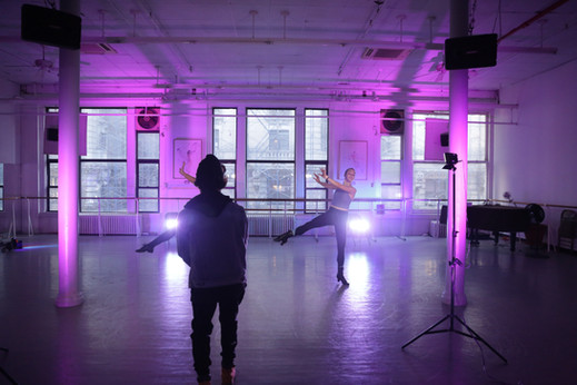 Creating Choreo for film