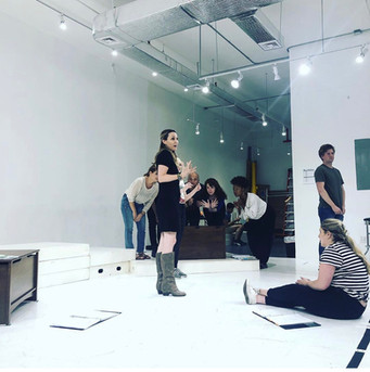 Creating in rehearsal