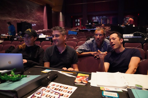 Bucks County Playhouse team