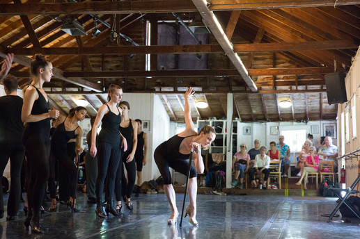 Choreographing at Jacob's Pillow Dance Festival