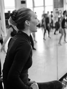 Shannon teaching for Verdon/Fosse legacy