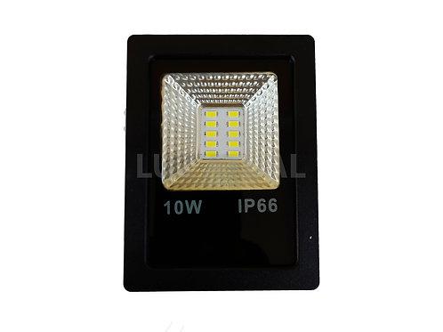 Refletor Holofote MicroLED Slim 10W Branco Frio