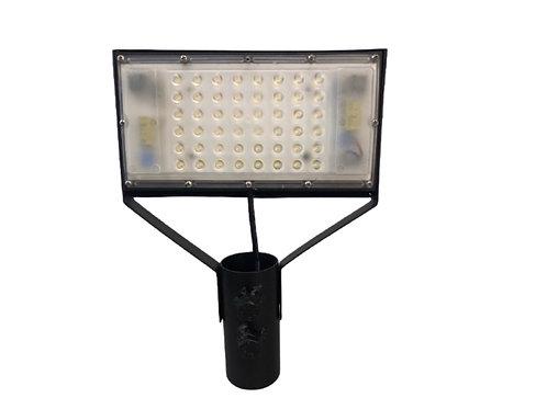 Luminária Pública Prática 50W Com base e rele