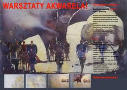 plakat spotkanie 4  akwarela gradzka