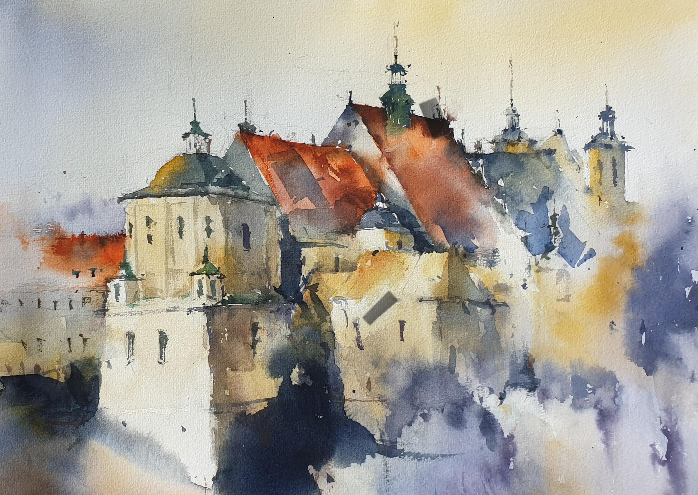 Lublin widok na Kościół Dominikanów