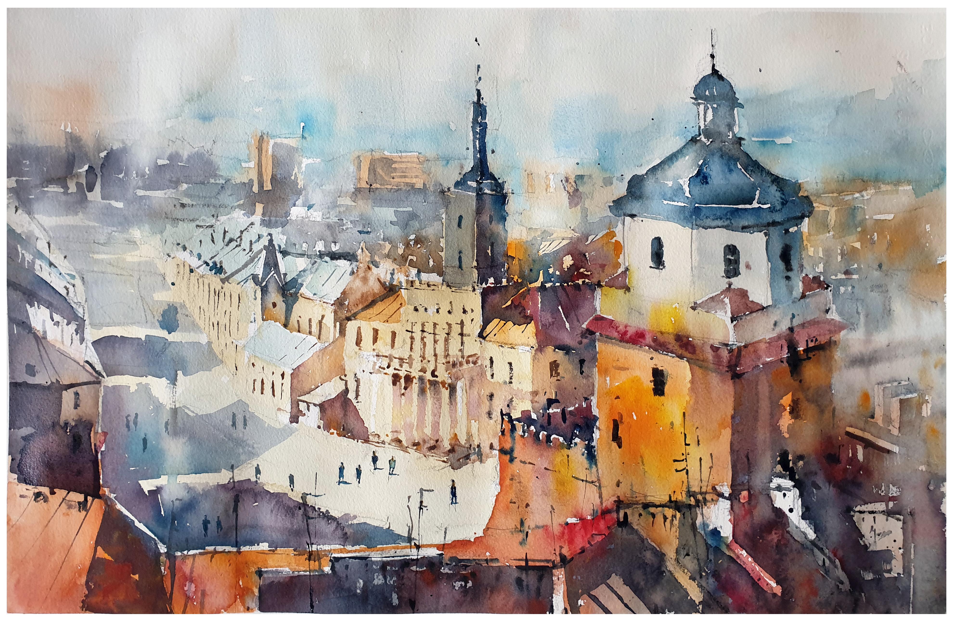 Lot na Krakowską Bramą
