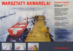 plakat spotkanie 2  akwarela gradzka