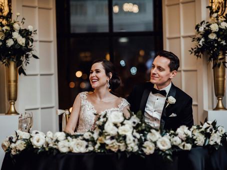 Blackstone Hotel Wedding - a pre-covid love story.