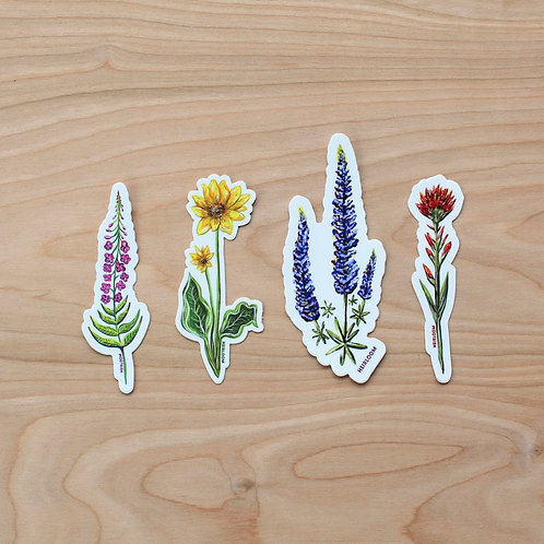 Heirloom Flora & Fauna Stickers
