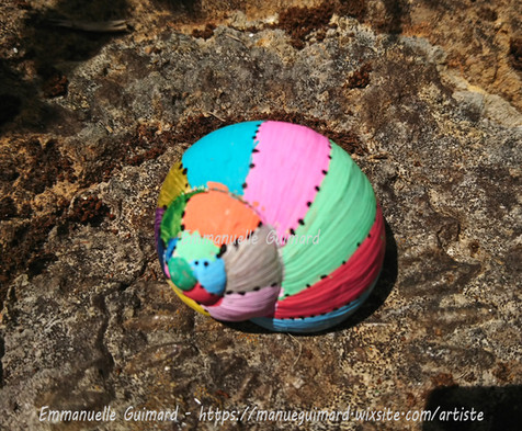 Décoration coquille escargot - Emmanuelle Guimard