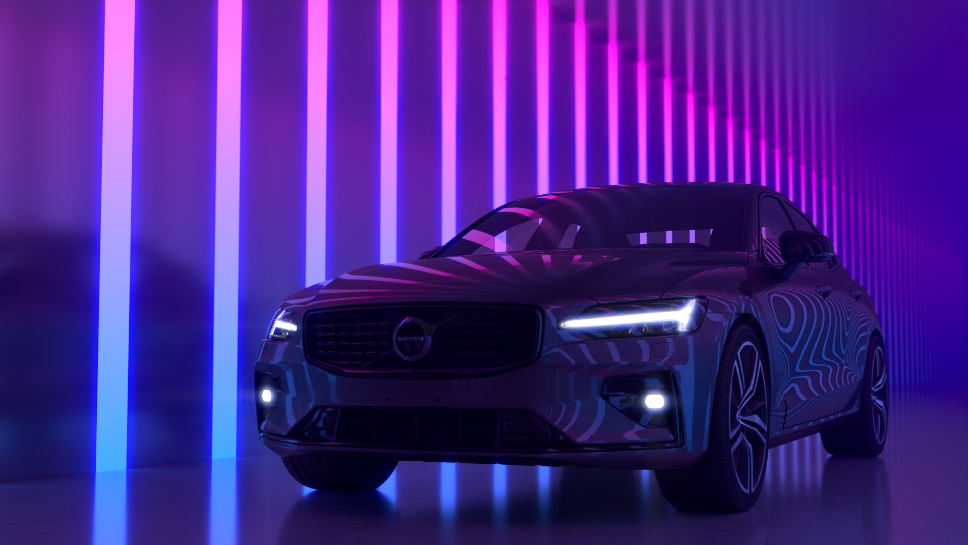Volvo S60 neon