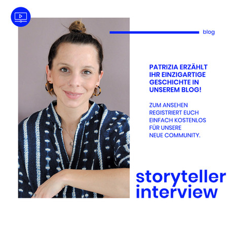 We are storytellers - Interview mit Patrizia Steinelt