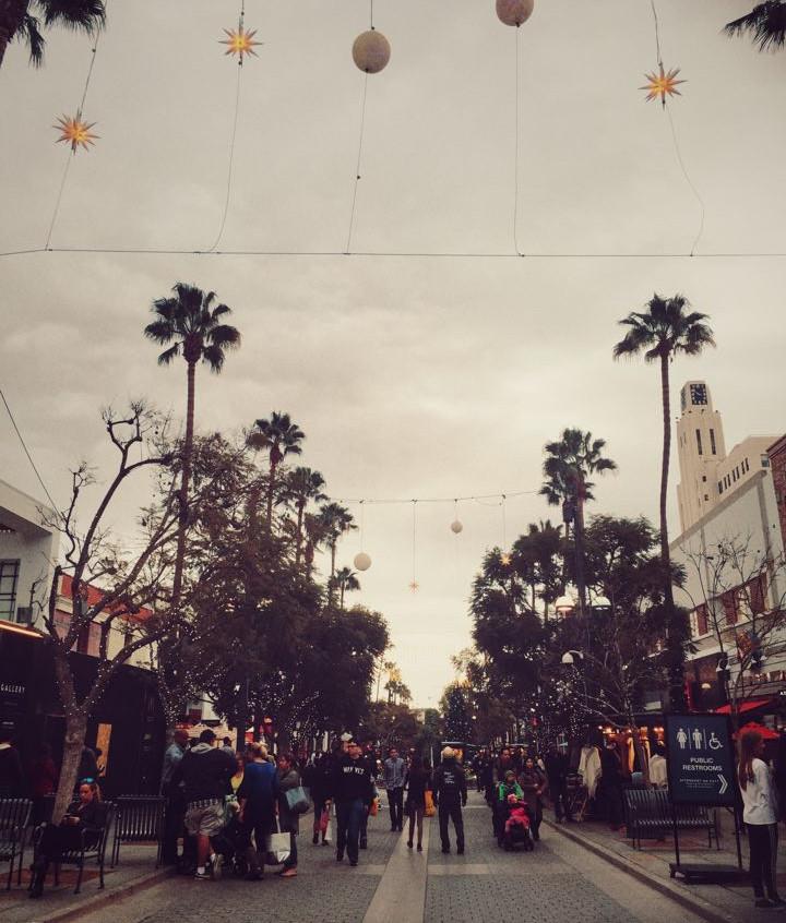 A winter day in Santa Monica, CA