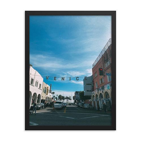 Foto Emoldurada de Venice Beach, California