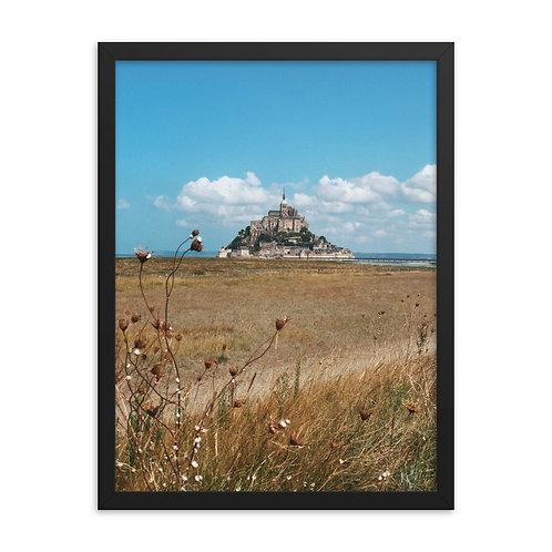 Foto Emoldurada Mont Saint Michel