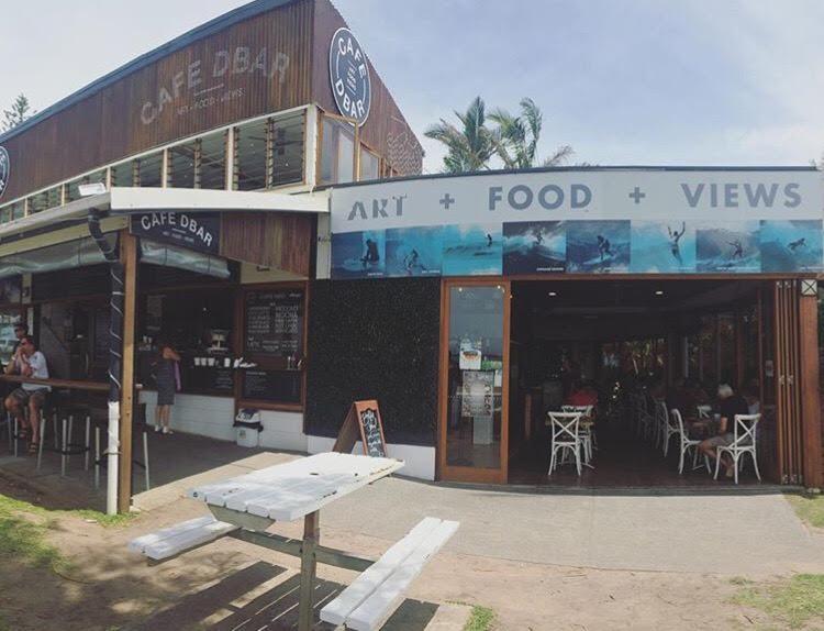 Café Dbar em Gold Coast