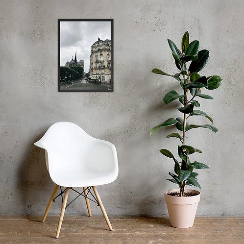 Foto Emoldurada da Notre Dame de Paris