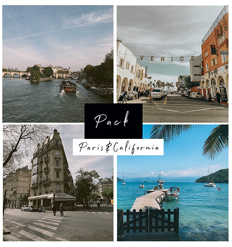 Vintage California & Paris Pack