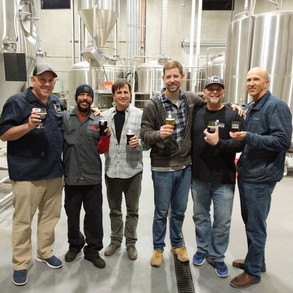 Touring the Eppig Brewery.