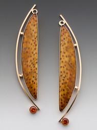Leopard Earrings