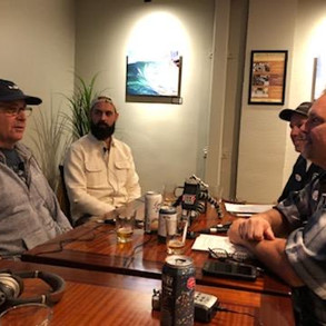 Podcasting with Coronado Brewing.