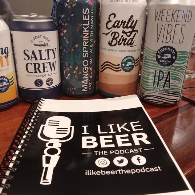 Coronado Brewing and I Like Beer Scripts.