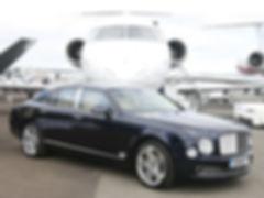 Jet with Bentley