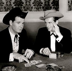 Maverick playing poker