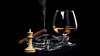 Luxury Lifestyle Cigar Cognac