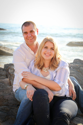 Crystal Cove Engagement Session