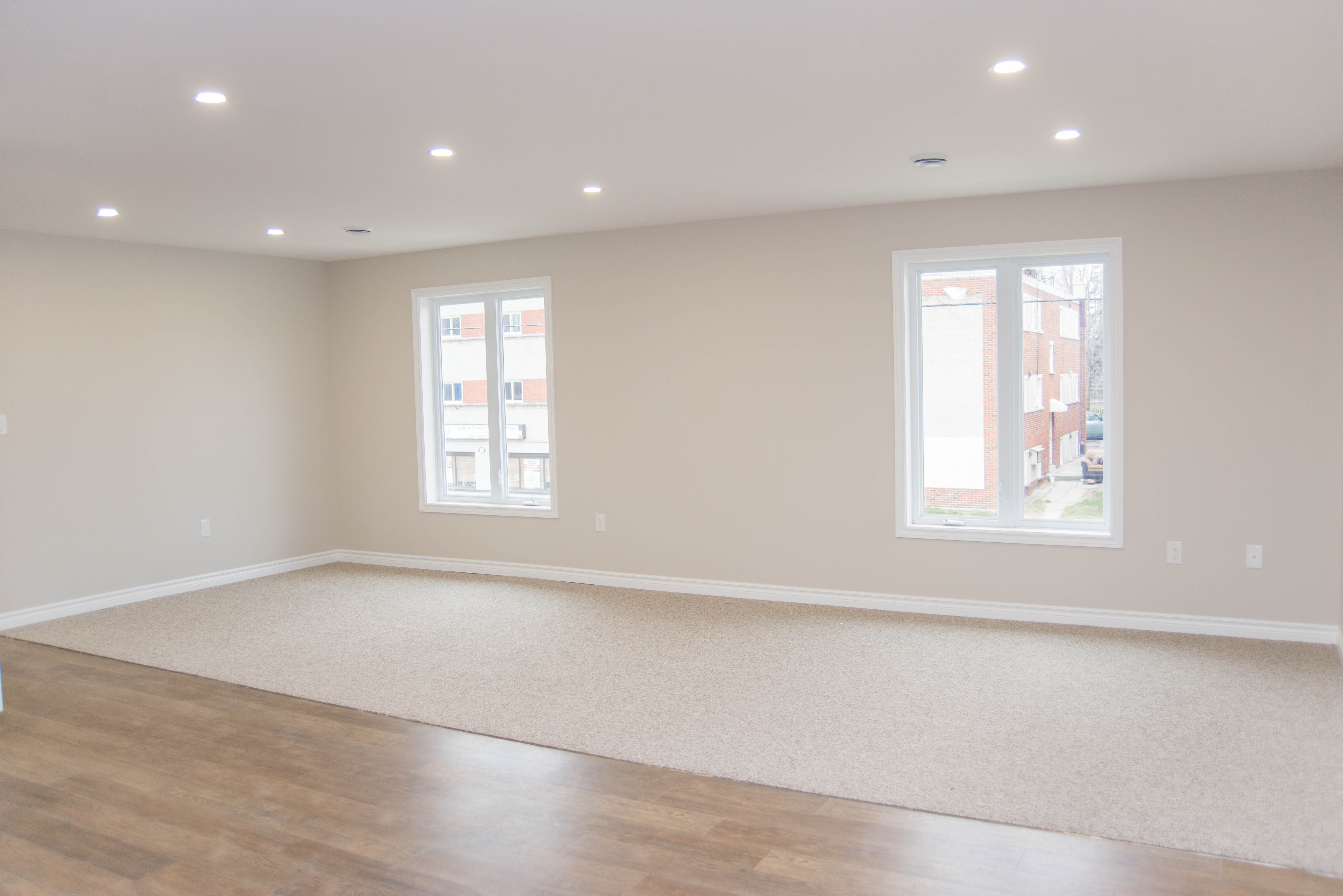 3 Bedroom - Living Space