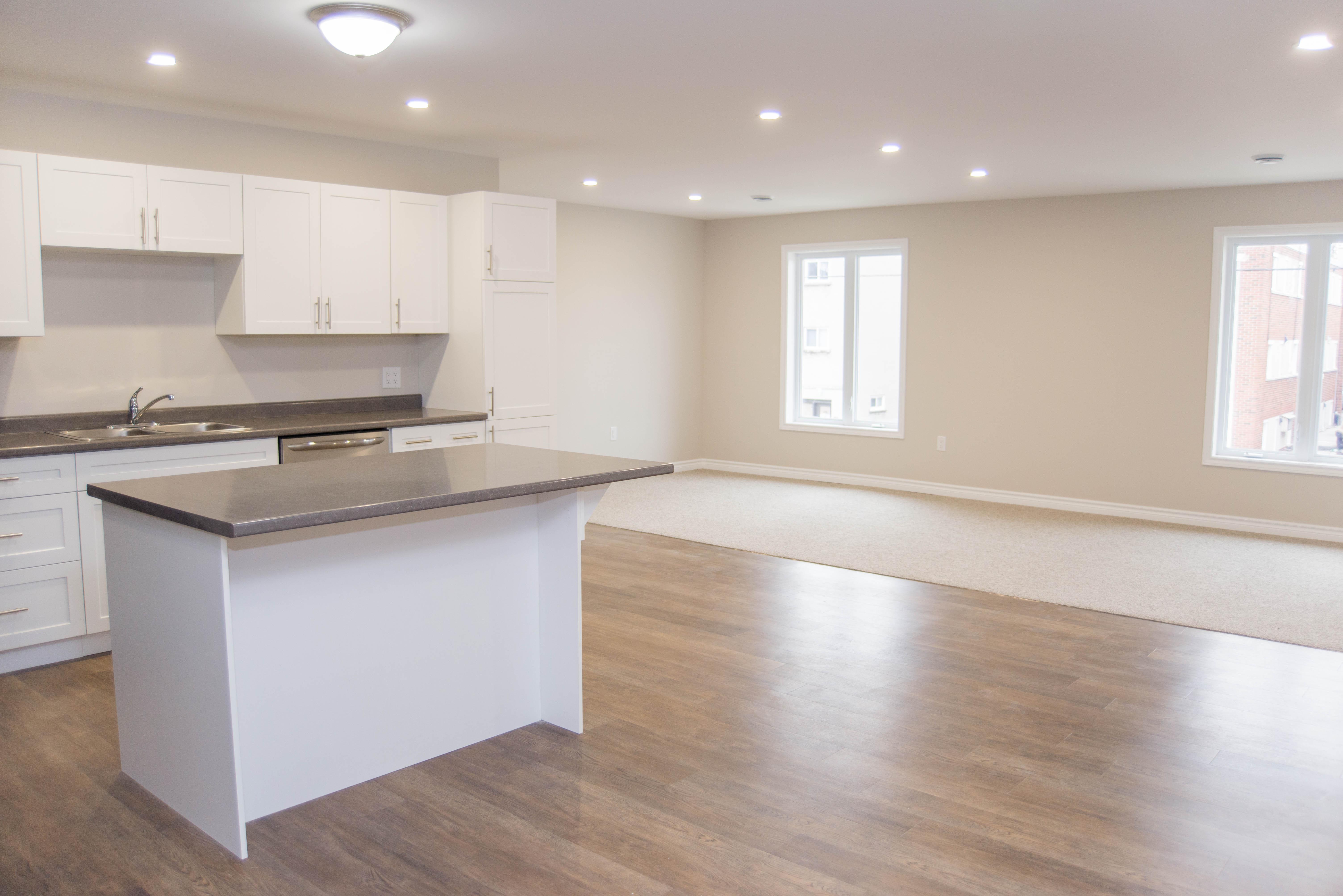 3 Bedroom - Kitchen/Living Space