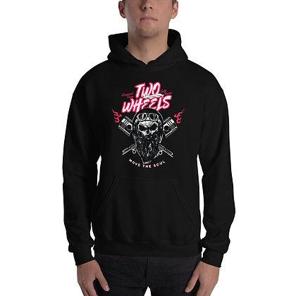 Biker hoodie  unisex -Two wheels biker hoodie