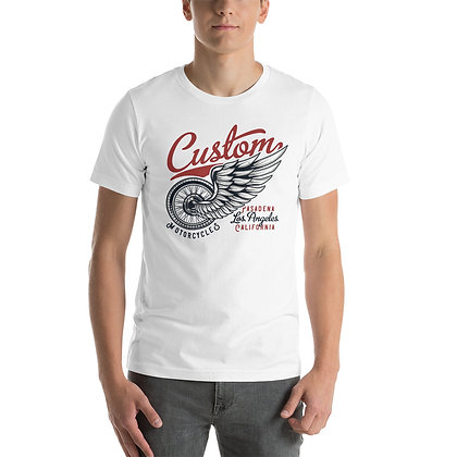 Custom motorcycles T shirt Short-Sleeve Unisex Bella Canvas 3001