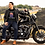 Thumbnail: Old biker Man T shirtShort-Sleeve Unisex
